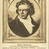 Bildnis Beethovens nach dem Originalgemälde im Beethovenhaus
