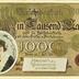 Reichsbanknote Ein Tausend Mark - Herzlichen Glückwunsch zum Geburtstage