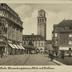Mülheim/Ruhr. Hindenburgstrasse, Blick auf Rathaus.