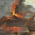 Vesuvio in Eruzione.