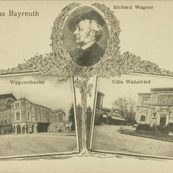 Gruss aus Bayreuth - Richard Wagner