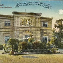 """Bayreuth - """"Wahnfried""""- Wagner-Wohnhaus"""