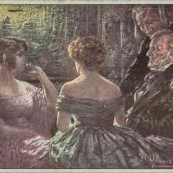 Ein Plauderstündchen bei Wagner.