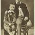 Richard Wagner mit seinem Sohn Siegfried (1880)