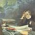 Robert Schumann ‹‹Dichterliebe›› komponierend. [R]