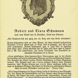 Robert und Clara Schumann