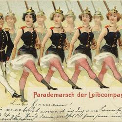 Parademarsch der Leibcompagnie