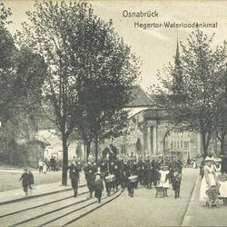 Osnabrück - Hegertor-Waterloodenkmal