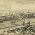 Unglückstelle des Eisenbahn-Zusammenstosses durch den Lloyd-Expresszug mit einem Militär-Urlaubszuge in Mülheim a. Rh. am 30. März 1910