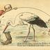 Euer Storch leider immer im Trüben fischt