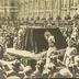 Beisetzungsfeierlichkeiten der Deutschen Kaiserin. Der kaiserliche Leichenwagen vor dem Neuen Palais