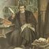 Wartburg, Reformationszimmer, Luther auf der Wartburg, die Bibel übersetzend, Mai 1521-März 1522 [R]