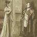 Königin Luise und Napoleon in Tilsit.