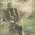 Napoleon auf St. Helena. Stumm wendet der Kaiser die Augen ab und träumt nur vom einsamen Felsengrab