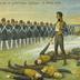 Die Erschießung der 11 Schill'schen Offiziere in Wesel 1809.