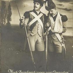 Nach Frankreich zogen zwei Grenadier' - Da weinten zusammen die Grenadier'