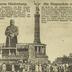 Der eiserne Hindenburg. Die Siegessäule zu Berlin