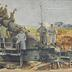 Erobertes 25 cm-Küstengeschütz an unserer Front [R]