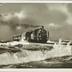 Insel Sylt D-Zug im Sturm auf dem Hindenburgdamm