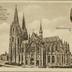 Köln: Dom. Südseite Reichspräsident von Hindenburg in Köln