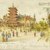 Exposition Universelle 1900 - Paris - Le Panorama du Tour du Monde
