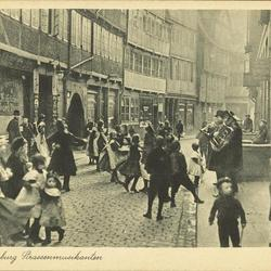 Alt-Hamburg Strassenmusikanten